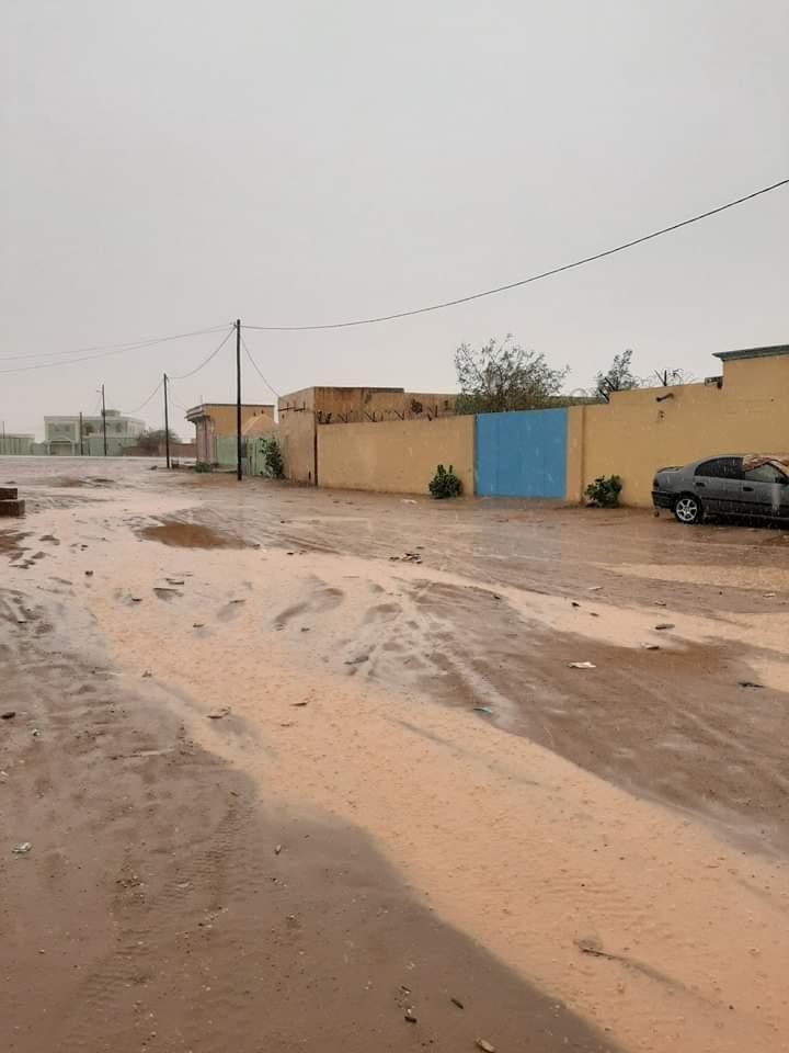 أمطار خفيفة على مناطق متفرقة من الحوض الشرقي
