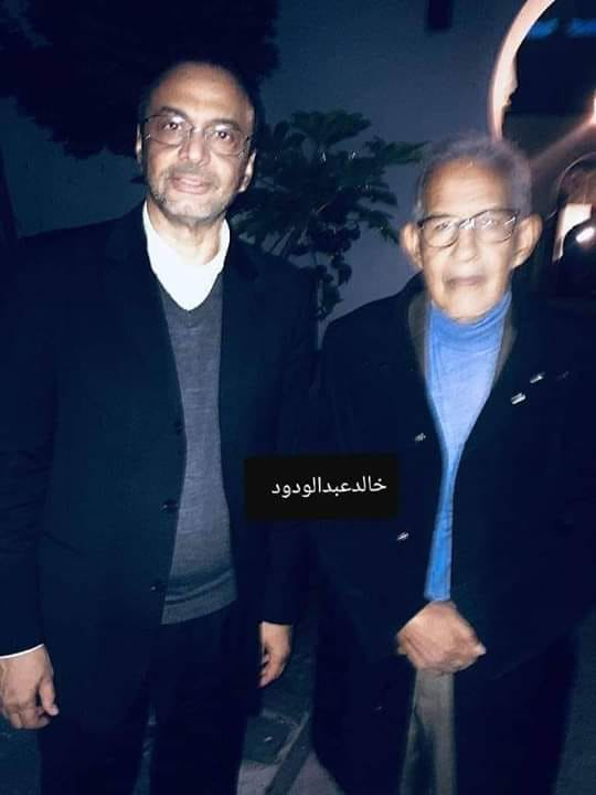 أحمد ولد داداه، سيدي محمد ولد ببكر (صورة من صفحة خالد عبد الودود)