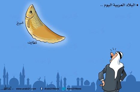 كاريكاتير: البلاد العربية اليوم...!!