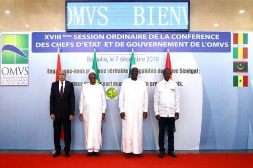 افتتاح أعمال القمة ال 18 لرؤساء دول منظمة استثمار نهر السينغال