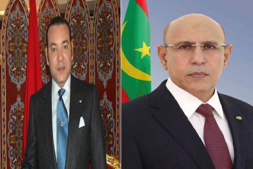 موريتانيا حريصة على تعزيز علاقات التعاون القائمة مع المغرب (برقية)