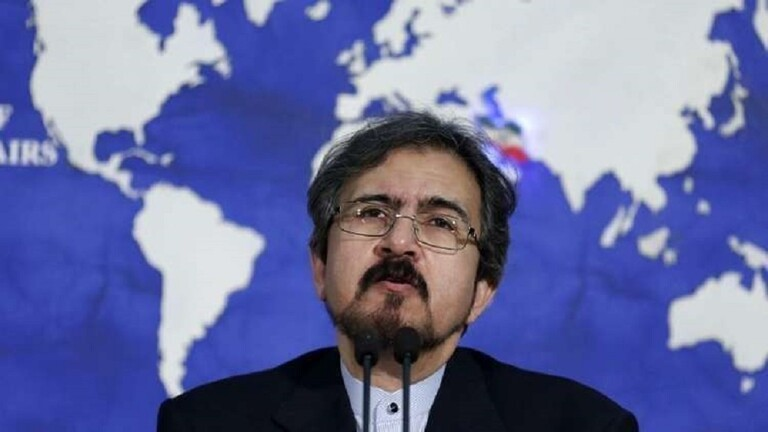 السفير الإيراني في فرنسا بهرام قاسمي