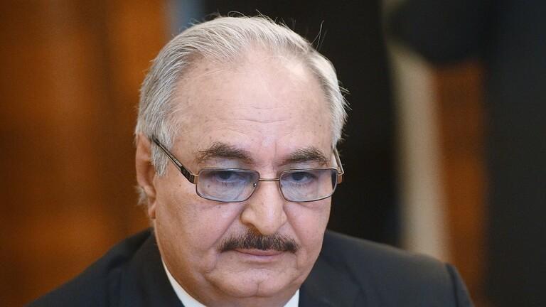 """قائد """"الجيش الوطني الليبي"""" المشير خليفة حفتر"""