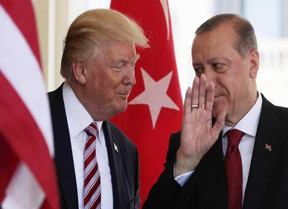 """ترامب الى أردوغان: """"لا تكن أحمقا"""" ولا تخاطر ليذكرك التاريخ كـ""""شيطان""""."""
