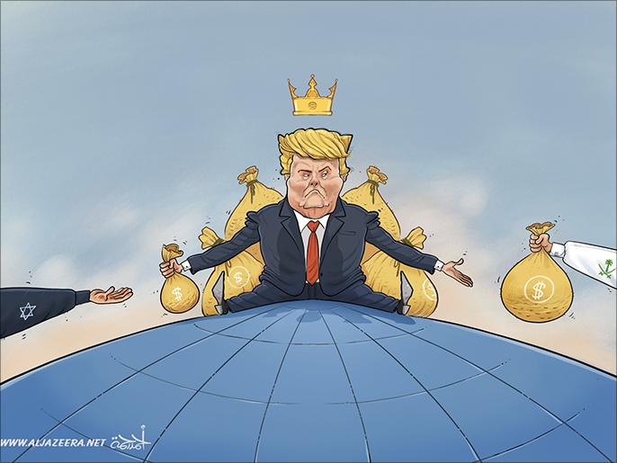 كاريكاتير: تمويل خليجي