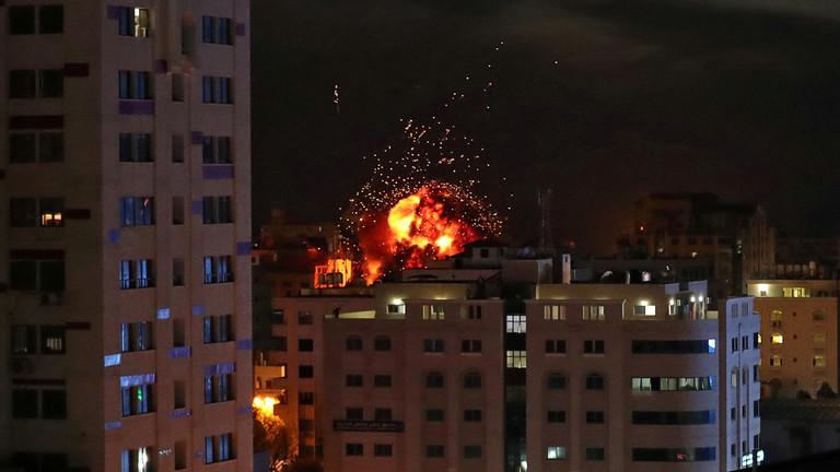 مصادر عسكرية إسرائيلية: لا نية لوقف الضربات المكثفة على غزة