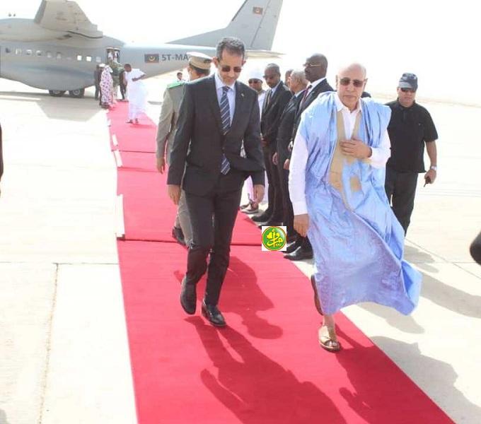 ولد الغزواني يعود إلى نواكشوط قادما من شنقيط