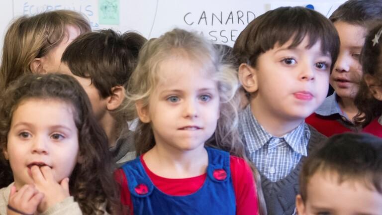 في مدرسة في الجزائر. الصورة: أرشيف.
