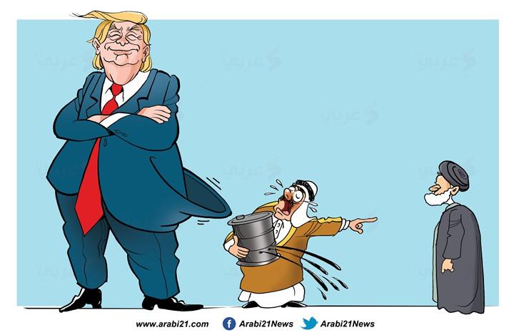 النفط وهجمات أرامكو.. (كاريكاتير)