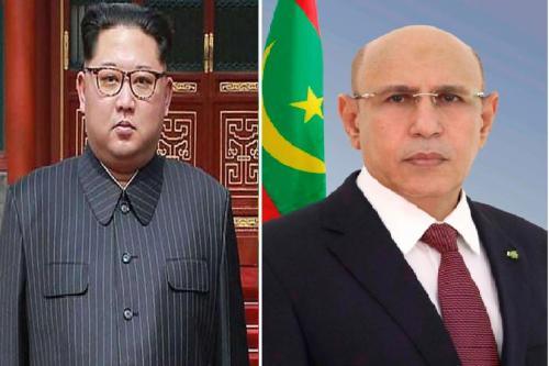 """موريتانيا حريصة على تطوير وتعزيز علاقتها بـ""""كوريا الشمالية"""""""