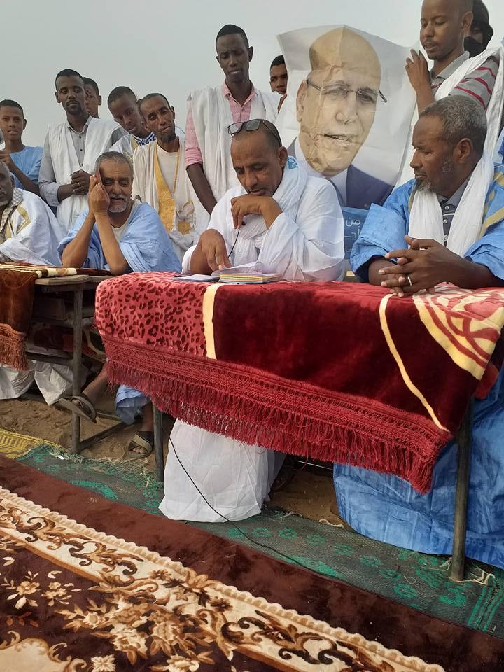 قرى في الشرق تنتفض دعما للمترشح محمد ولد الغزواني (صور)