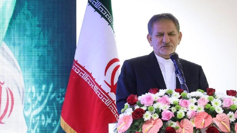 إسحق جهانغيري النائب الأول للرئيس الإيراني