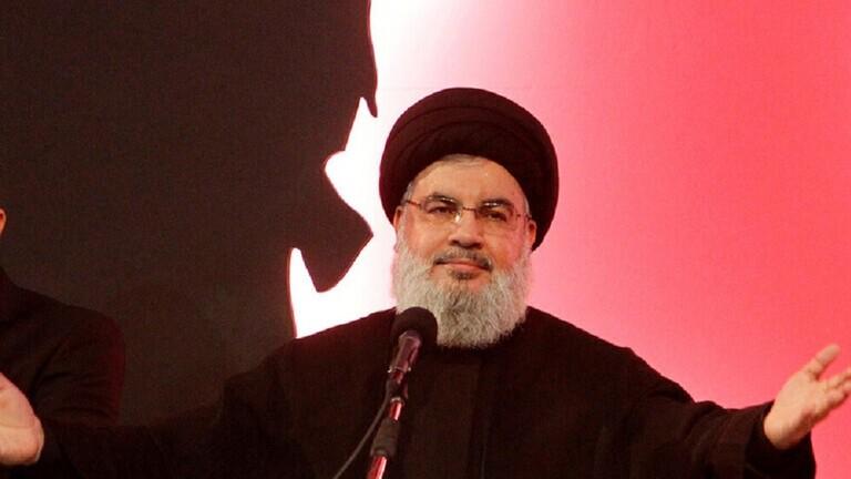 """الأمين العام لـ""""حزب الله"""" اللبناني، حسن نصر الله"""