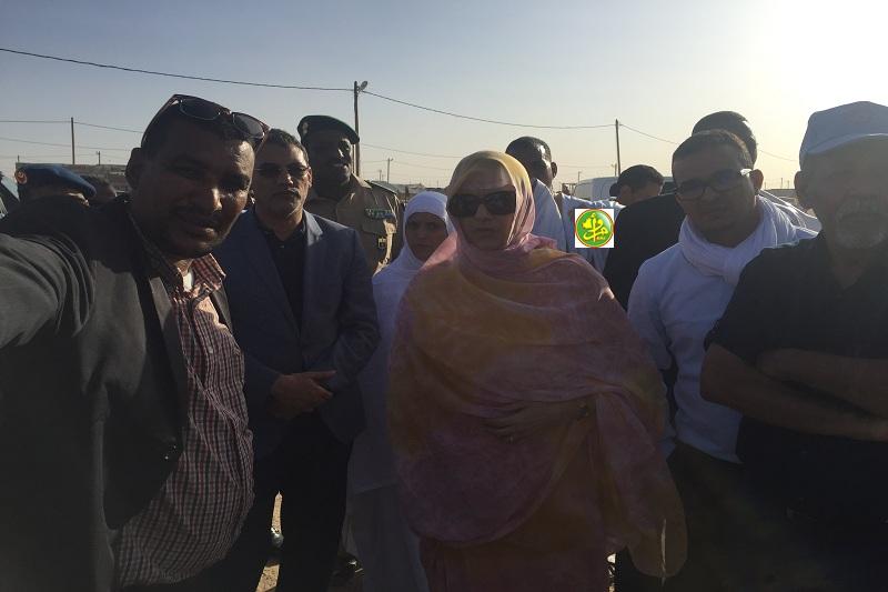 الشامي.. وزيرة البيئة تزور مركز التعدين التقليدي لتصفية الذهب