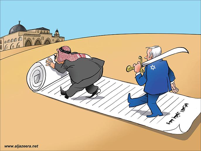 كاريكاتير: وعد بلفور العربي