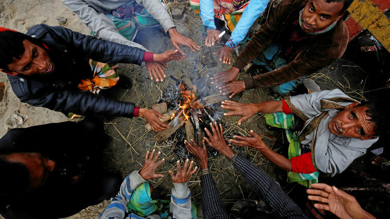 وفاة 50 شخصا بسبب البرد القارس في بنغلاديش