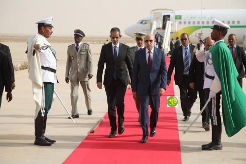رئيس الجمهورية يعود إلى نواكشوط محملا بحزمة من الاستثمارات الإماراتية