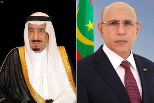 رئيس الجمهورية يهاتف خادم الحرمين الشريفين بمناسبة عيد الفطر
