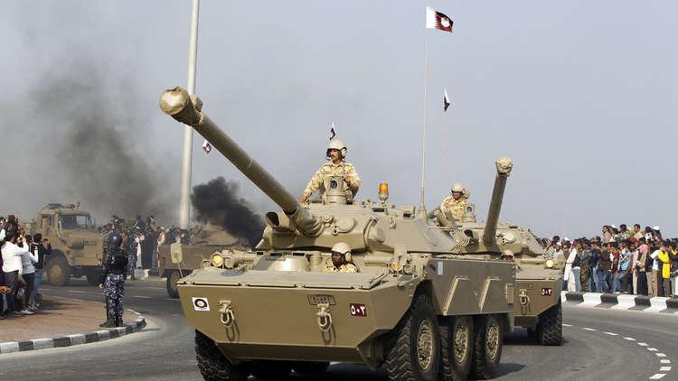 """التلفزيون القطري يتحدث عن مواجهة """"التمرد القبلي"""" في البلاد"""