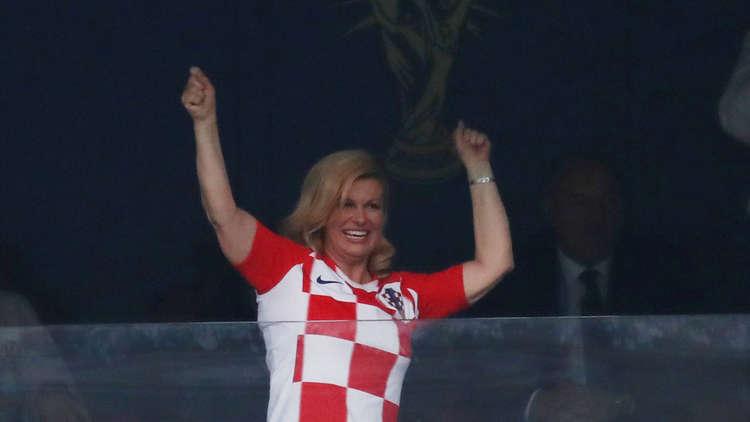 الرئيسة الكرواتية كوليندا كيتاروفيتش