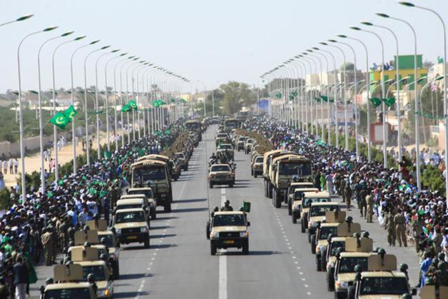 هؤلاء هم قادة الجيش الموريتانى بالترتيب منذ تأسيسه (أسماء + رتب)