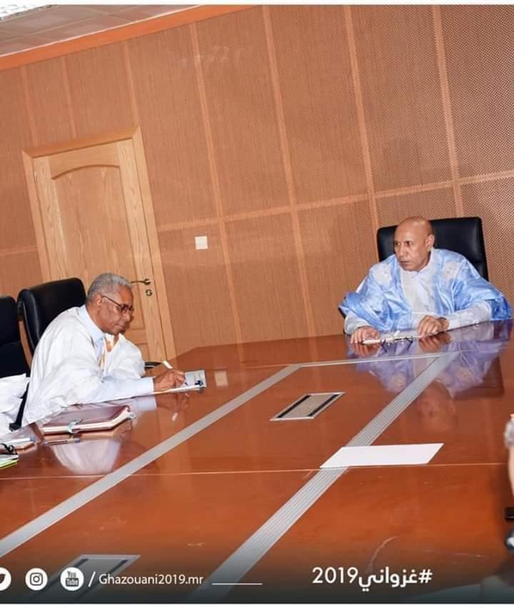 رئيس فريق الأغلبية الجديد المقترح صحبة غزواني