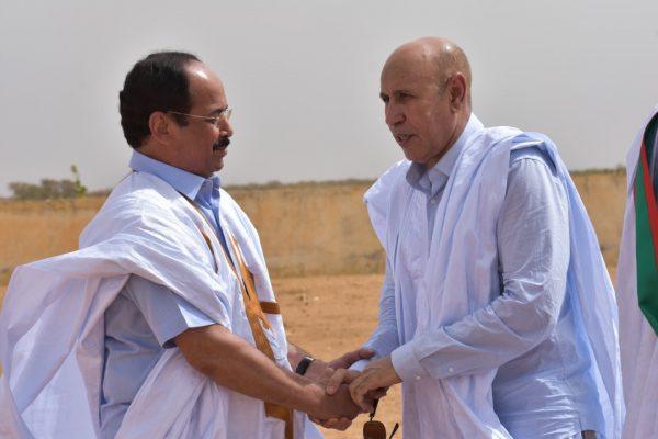 ولد اميمو مع رئيس الجمهورية