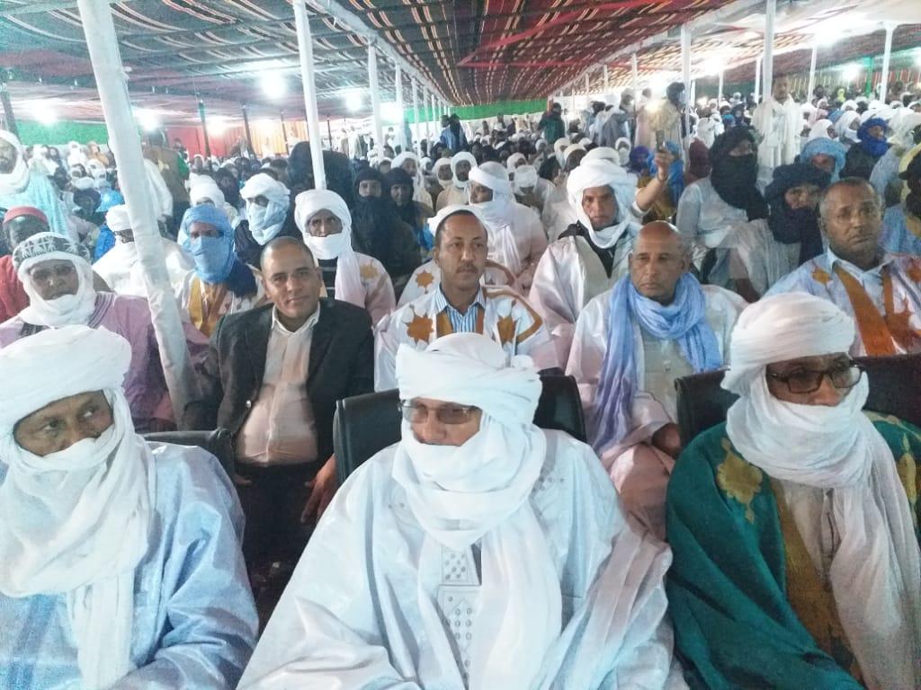 حضور موريتاني بارز في مؤتمر الحركة العربية الأزوادية بتمبكتو (صور)