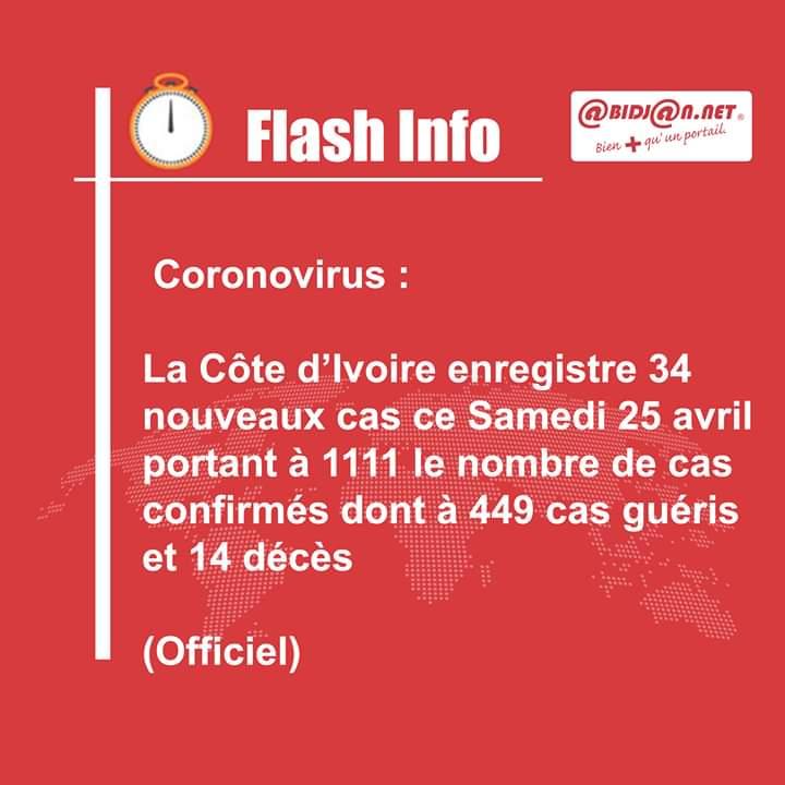 نشرة وزارة ساحل العاج