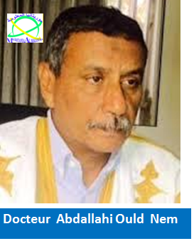 الدكتور عبد الله ولد النم - مسؤول السياسات في لجنة تسيير حزب الاتحاد من أجل الجمهورية