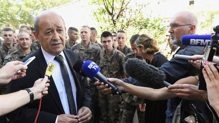 وزير الدفاع الفرنسي جان إيف لو دريان