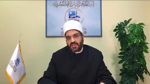 مدير إدارة التدريب وأمين الفتوى عمرو الورداني