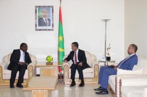 موريتانيا تعمل على تطوير علاقات التعاون بدولة غامبيا