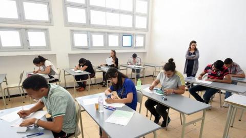 امتحانات في مدرسة تونسية