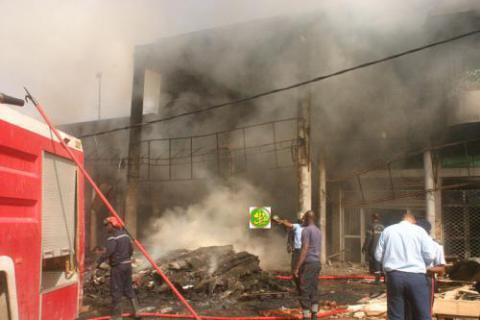 حريق يلتهم قيمة 300 مليون أوقية قديمة بعيد صلاة الفجر