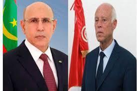 رئيس الجمهورية يهاتف الرئيس التونسي حول المستجدات