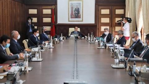 مجلس الوزراء المغربي