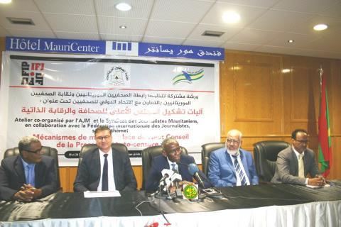 صحفيو موريتاينا يستلهمون تجارب المغرب في مجال تنظيم وتمهين الحقل