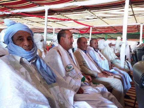 الوفد الموريتاني