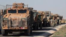 قوات تركية في منطقة الحدود السورية التركية (أرشيف)
