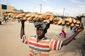 بائع خبز متجول
